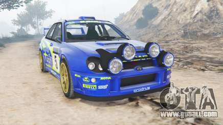 Subaru Impreza S8 WRC (GD) 2001 [add-on] for GTA 5