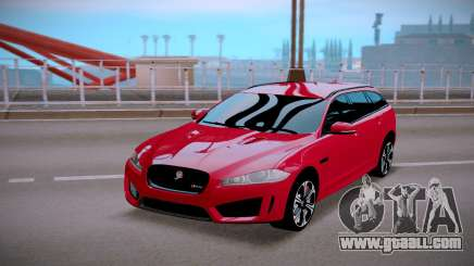 Jaguar XFR-S Sportbrake 2015 for GTA San Andreas
