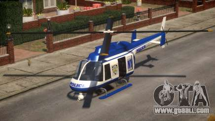 NYPD Police Maverick for GTA 4