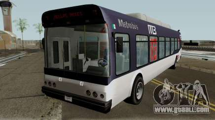 Brute Metrobus (GTA V Style) for GTA San Andreas