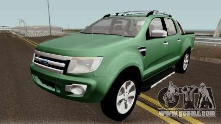 Ford Ranger 2012 for GTA San Andreas