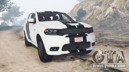 Dodge Durango SRT Mopar 2018 v1.9.1 [replace] for GTA 5