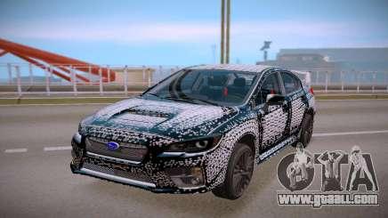 Subaru WRX STI 2017 Geometric for GTA San Andreas