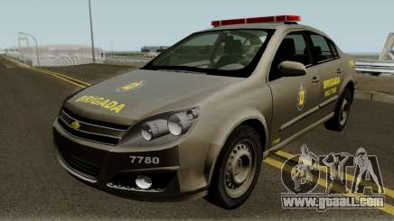 Chevrolet Vectra Elite da Brigada Militar for GTA San Andreas