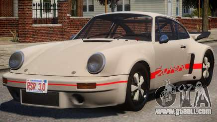 1974 Porsche 911 PJ4 for GTA 4