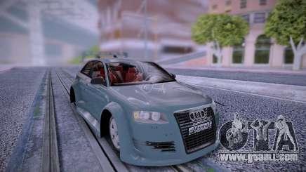 Audi A3 Rus Plates for GTA San Andreas