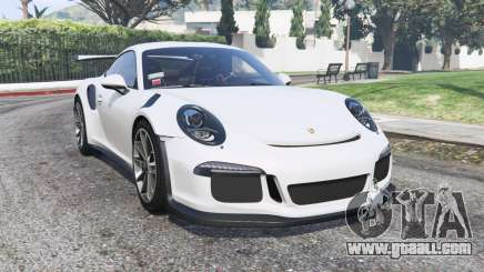 Porsche 911 GT3 RS (991) 2016 v2.0 [replace] for GTA 5