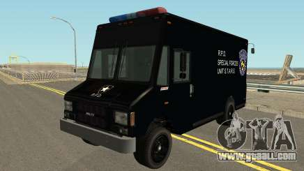 Boxbille Police S.T.A.R.S. Resident Evil 2 for GTA San Andreas