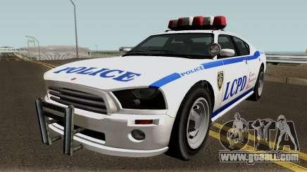 Police Buffalo GTA TBoGT for GTA San Andreas
