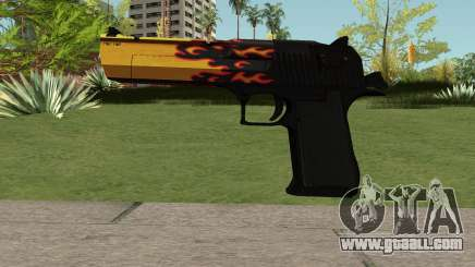 Desert Eagle Blaze for GTA San Andreas