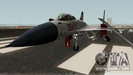 Shenyang J-15 for GTA San Andreas