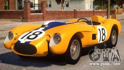 1957 Ferrari Testa Rossa PJ1 for GTA 4