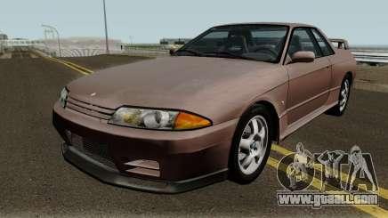 Nissan Skyline GT-R (BNR32) 1989 1.01 for GTA San Andreas