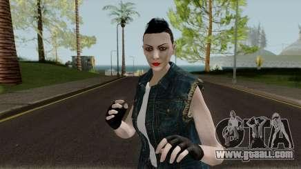 GTA Online Female Random Skin 2 (Bikers DLC) for GTA San Andreas