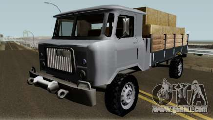 Farm GAZ 66 Low-poly for GTA San Andreas