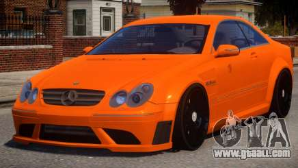 Mercedes Benz CLK63 V1.0 for GTA 4