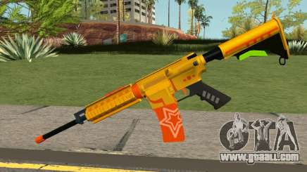 ROS-M4A1 Pew Pew Pew for GTA San Andreas
