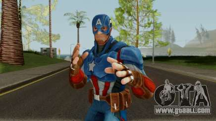 Captain America From Marvel Strike Force for GTA San Andreas