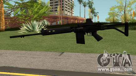 FN-FAL Black for GTA San Andreas