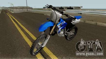 Yamaha YZ125 2017 for GTA San Andreas