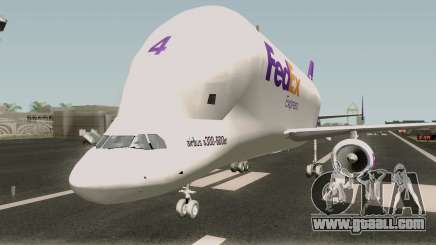 Airbus A300st Beluga FedEx for GTA San Andreas