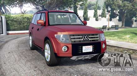 Mitsubishi Pajero LWB 2007 v1.1 [replace] for GTA 5