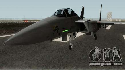 Boeing F-15E Strike Eagle for GTA San Andreas