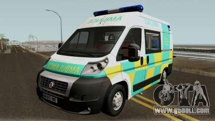 Fiat Ducato Geo Ambulance for GTA San Andreas