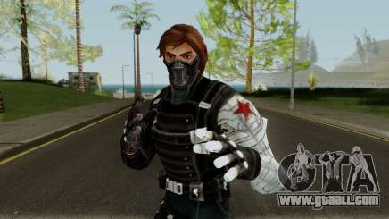 Winter Soldier From Marvel Strike Force for GTA San Andreas