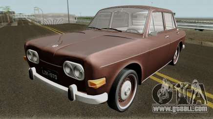 Volkswagen 1600 Sedan (Ze do Caixao) 1970 for GTA San Andreas