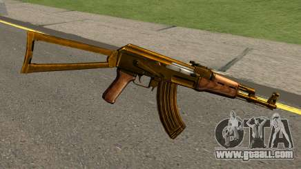 AK47 Gold for GTA San Andreas