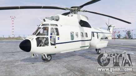 Aerospatiale AS.332L1 Super Puma v3.0 [add-on] for GTA 5
