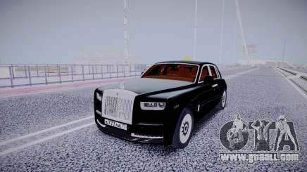 Rolls Royce Ghost 2018 for GTA San Andreas