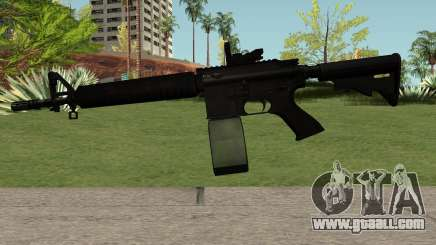 M4-A1 Black for GTA San Andreas