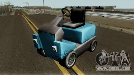 New Caddy for GTA San Andreas