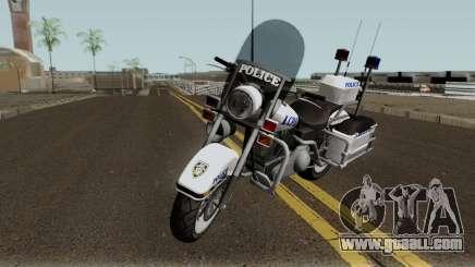GTA TBoGT Police Bike for GTA San Andreas