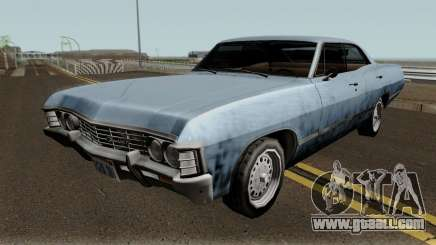 Chevrolet Impala 67 Sobrenatural V2 for GTA San Andreas