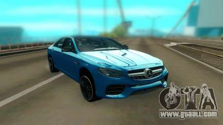 Mercedes-Benz E63S AMG 2018 for GTA San Andreas