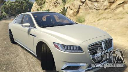 Lincoln Continental 2017 v1.0 for GTA 5