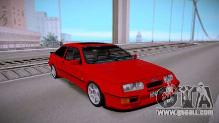 Ford Sierra Red for GTA San Andreas