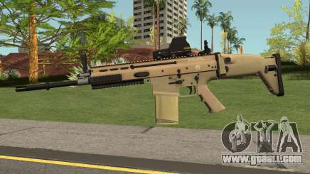 SCAR-H for GTA San Andreas