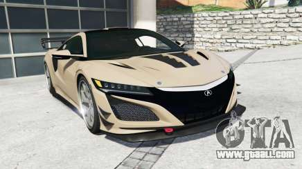 Acura NSX 2017 [replace] for GTA 5