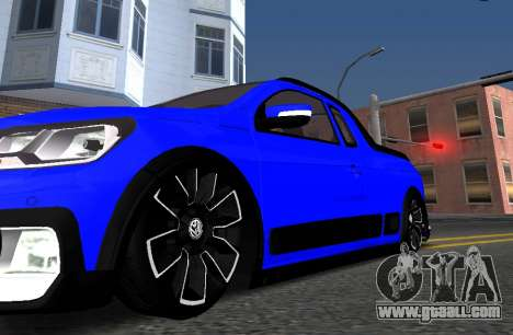 Volkswagen Saveiro Cross G7 with Sound for GTA San Andreas