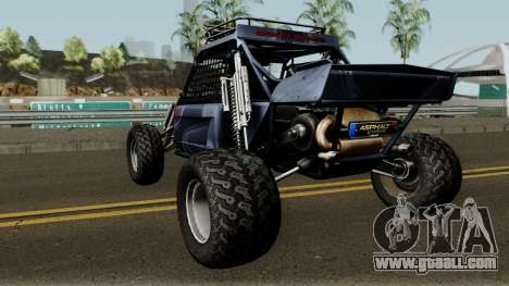 Predator X-18 Intimidator for GTA San Andreas back left view