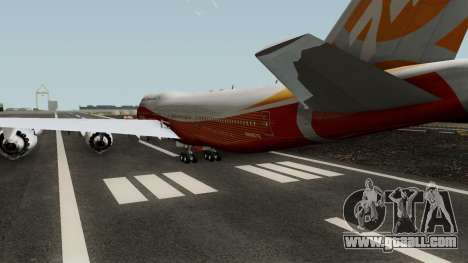 Boeing 747-8 Intercontinental for GTA San Andreas