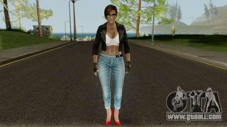 Lisa Hamilton (Casual Battle) From DOA5LR for GTA San Andreas second screenshot