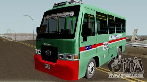 Buseta Mazda T for GTA San Andreas