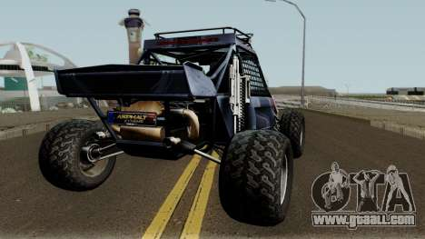 Predator X-18 Intimidator for GTA San Andreas right view