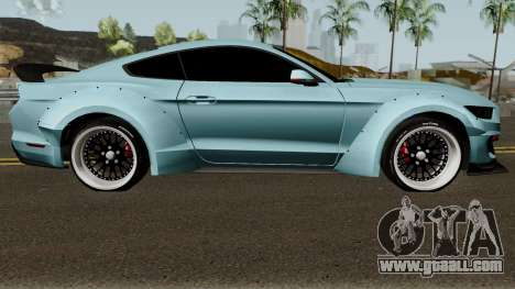 Ford Mustang Shelby GT350R Liberty Walk 2016 for GTA San Andreas back view