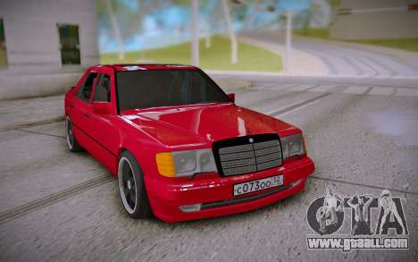 Mercedes-Benz E500 W124 Brabus for GTA San Andreas